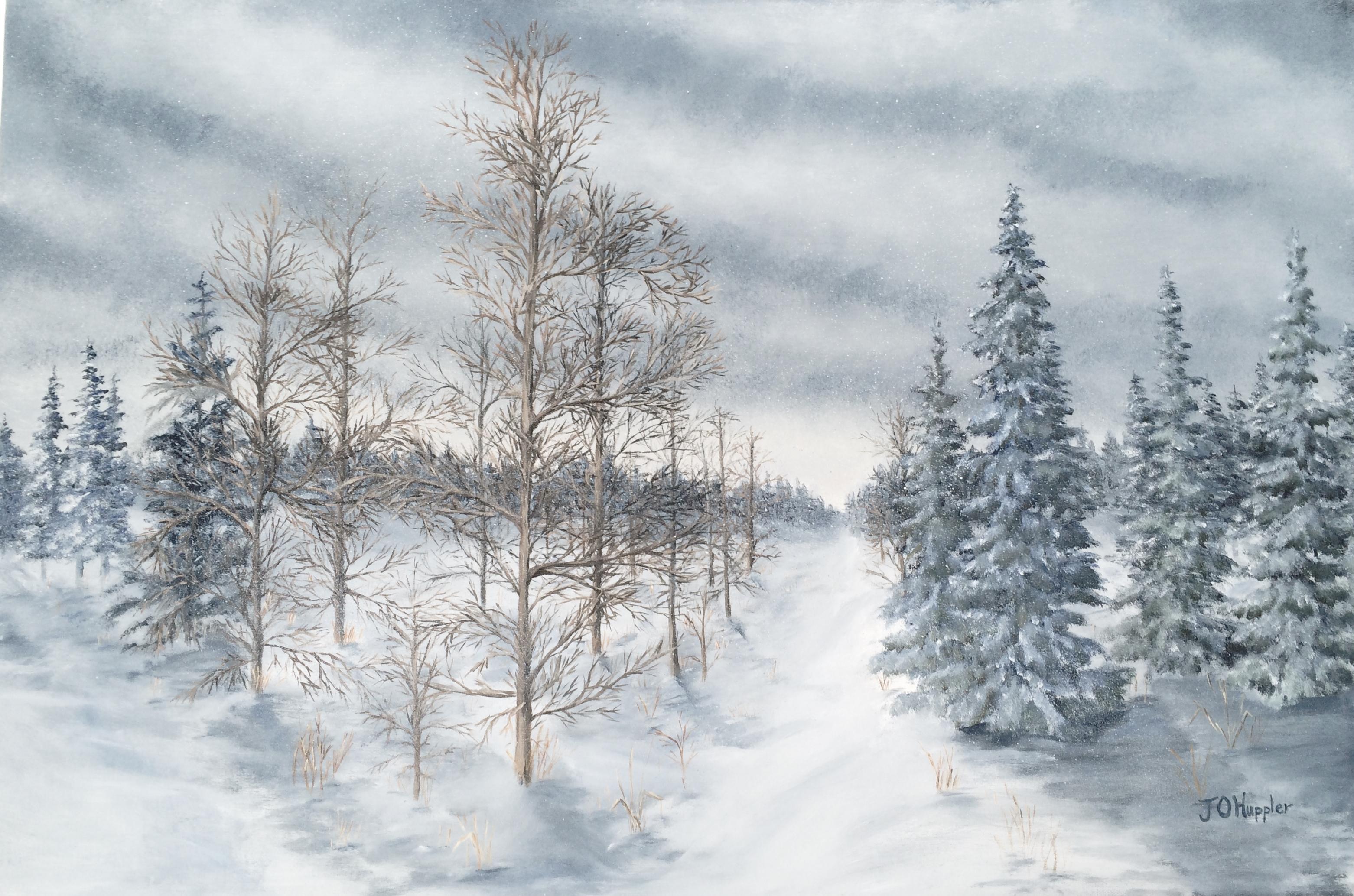 Winter Paintings | J O Huppler