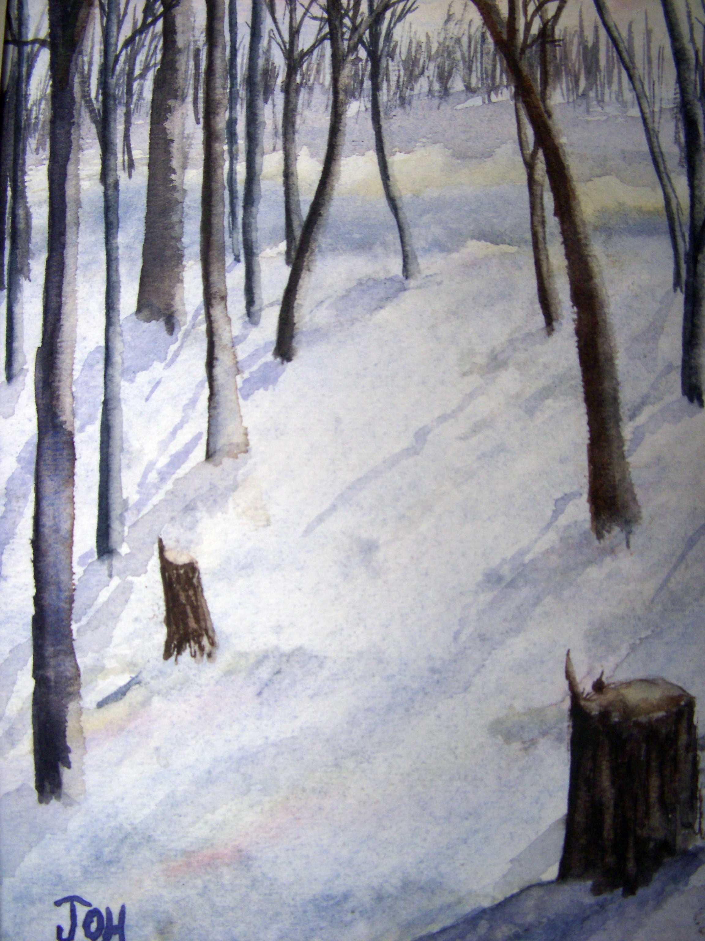 Winter Woodlands J O Huppler